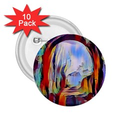 Abstract Tunnel 2 25  Buttons (10 Pack)