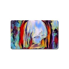 Abstract Tunnel Magnet (name Card)