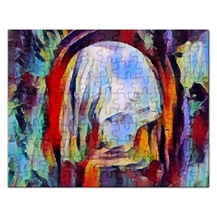 Abstract Tunnel Rectangular Jigsaw Puzzl