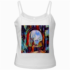 Abstract Tunnel Ladies Camisoles