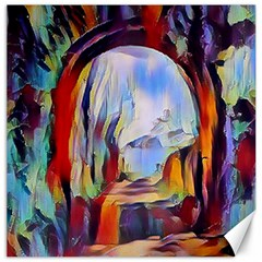 Abstract Tunnel Canvas 16  X 16