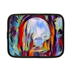 Abstract Tunnel Netbook Case (small)  by 8fugoso
