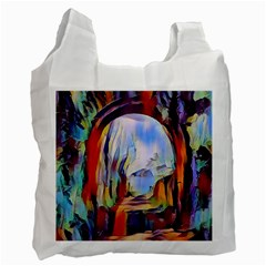 Abstract Tunnel Recycle Bag (one Side)