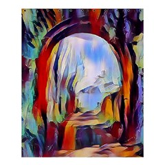 Abstract Tunnel Shower Curtain 60  X 72  (medium)  by 8fugoso
