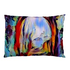 Abstract Tunnel Pillow Case (two Sides)