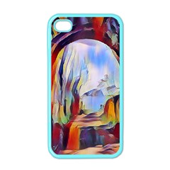 Abstract Tunnel Apple Iphone 4 Case (color)