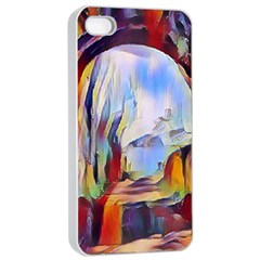 Abstract Tunnel Apple Iphone 4/4s Seamless Case (white)