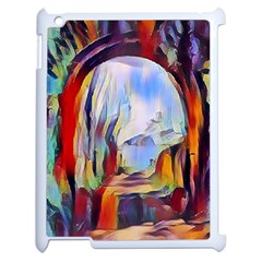 Abstract Tunnel Apple Ipad 2 Case (white)
