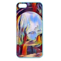 Abstract Tunnel Apple Seamless Iphone 5 Case (color)