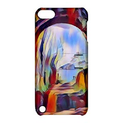 Abstract Tunnel Apple Ipod Touch 5 Hardshell Case With Stand