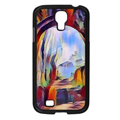 Abstract Tunnel Samsung Galaxy S4 I9500/ I9505 Case (black) by 8fugoso
