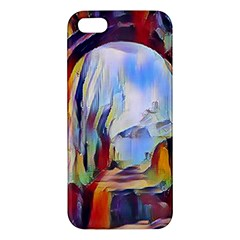 Abstract Tunnel Iphone 5s/ Se Premium Hardshell Case