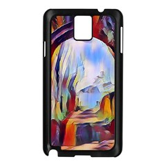 Abstract Tunnel Samsung Galaxy Note 3 N9005 Case (black) by 8fugoso
