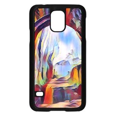 Abstract Tunnel Samsung Galaxy S5 Case (black)