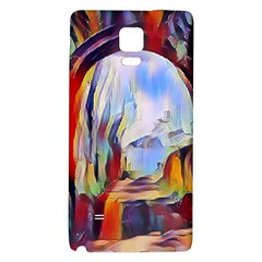 Abstract Tunnel Galaxy Note 4 Back Case