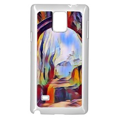Abstract Tunnel Samsung Galaxy Note 4 Case (white)