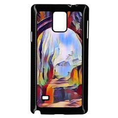 Abstract Tunnel Samsung Galaxy Note 4 Case (black)
