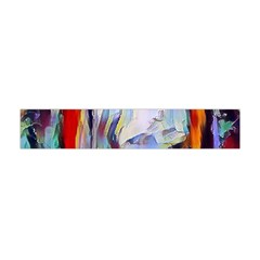 Abstract Tunnel Flano Scarf (mini)