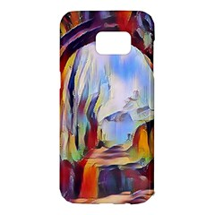 Abstract Tunnel Samsung Galaxy S7 Edge Hardshell Case