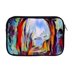 Abstract Tunnel Apple Macbook Pro 17  Zipper Case