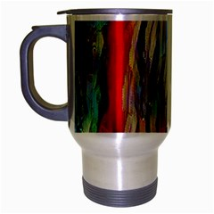 Abstract Tunnel Travel Mug (silver Gray) by 8fugoso