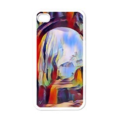 Abstract Tunnel Apple Iphone 4 Case (white) by 8fugoso