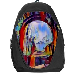 Abstract Tunnel Backpack Bag by 8fugoso