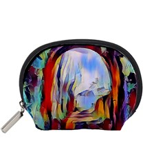 Abstract Tunnel Accessory Pouches (small)  by 8fugoso