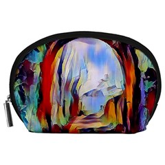 Abstract Tunnel Accessory Pouches (large)  by 8fugoso