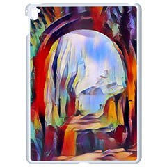 Abstract Tunnel Apple Ipad Pro 9 7   White Seamless Case by 8fugoso