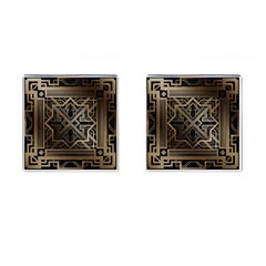 Art Nouveau Cufflinks (square) by 8fugoso