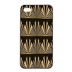 Art Deco Apple Iphone 4/4s Seamless Case (black) by 8fugoso