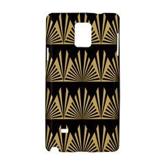 Art Deco Samsung Galaxy Note 4 Hardshell Case by 8fugoso