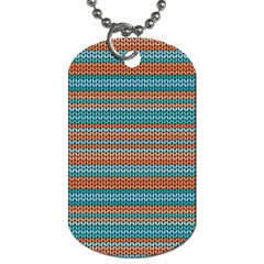 Winter Pattern 1 Dog Tag (two Sides) by tarastyle