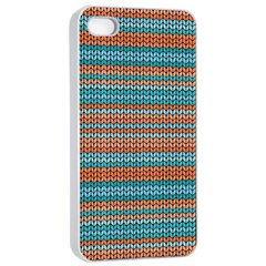 Winter Pattern 1 Apple Iphone 4/4s Seamless Case (white) by tarastyle