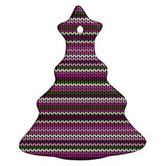Winter Pattern 2 Ornament (christmas Tree)  by tarastyle