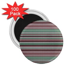 Winter Pattern 3 2 25  Magnets (100 Pack)  by tarastyle
