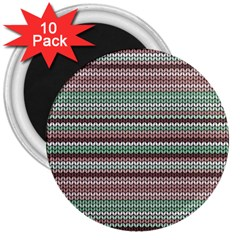 Winter Pattern 3 3  Magnets (10 Pack)  by tarastyle