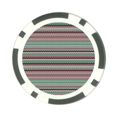 Winter Pattern 3 Poker Chip Card Guard (10 Pack) by tarastyle