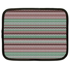 Winter Pattern 3 Netbook Case (xxl)  by tarastyle