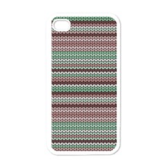 Winter Pattern 3 Apple Iphone 4 Case (white) by tarastyle