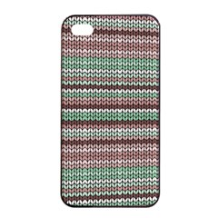 Winter Pattern 3 Apple Iphone 4/4s Seamless Case (black) by tarastyle