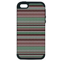 Winter Pattern 3 Apple Iphone 5 Hardshell Case (pc+silicone) by tarastyle