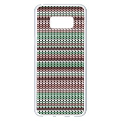 Winter Pattern 3 Samsung Galaxy S8 Plus White Seamless Case by tarastyle
