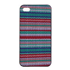 Winter Pattern 4 Apple Iphone 4/4s Seamless Case (black) by tarastyle