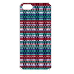 Winter Pattern 4 Apple Iphone 5 Seamless Case (white) by tarastyle