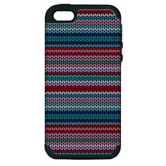 Winter Pattern 4 Apple Iphone 5 Hardshell Case (pc+silicone) by tarastyle