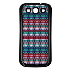 Winter Pattern 4 Samsung Galaxy S3 Back Case (black) by tarastyle
