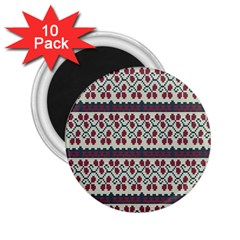 Winter Pattern 5 2 25  Magnets (10 Pack)  by tarastyle