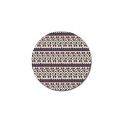 Winter Pattern 5 Golf Ball Marker (10 Pack) by tarastyle